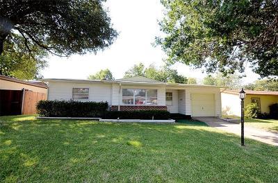 Dallas Single Family Home Active Option Contract: 11516 Fernald Avenue