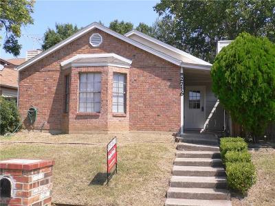 Irving Single Family Home For Sale: 2716 Bridge Lake Drive