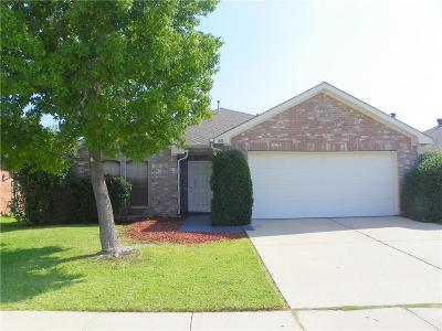 Saginaw Single Family Home Active Option Contract: 616 Crystal Brook Drive