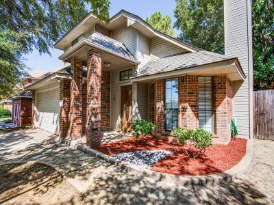 Grapevine Single Family Home Active Option Contract: 1514 Ashwood Lane