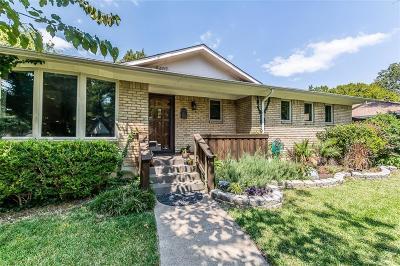Dallas Single Family Home Active Option Contract: 8407 Moorcroft Drive