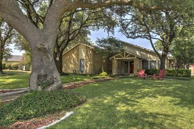 Plano Single Family Home Active Option Contract: 3917 Saddlehead Drive