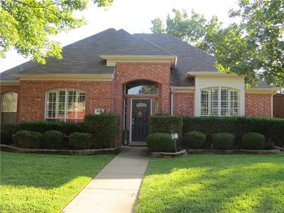 Flower Mound Single Family Home Active Option Contract: 1800 Trail Ridge Lane