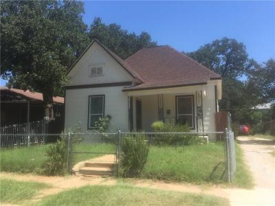 North Fort Worth Single Family Home For Sale: 1406 Lee Avenue