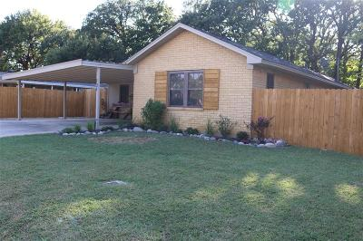 Lewisville Single Family Home Active Option Contract: 131 W Shore