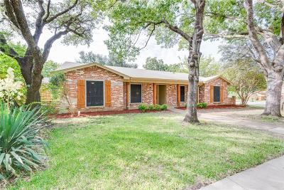 North Richland Hills Single Family Home Active Option Contract: 7550 Terry Drive