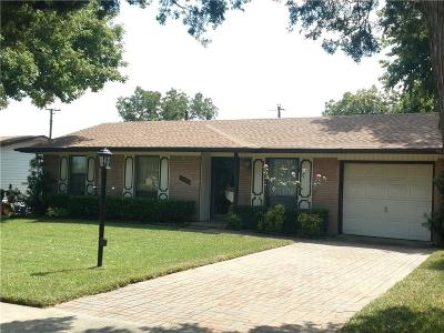 Plano Single Family Home Active Option Contract: 1628 Azalea Lane