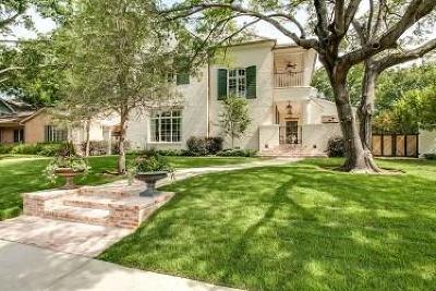 Dallas County Single Family Home For Sale: 3616 Hanover Street