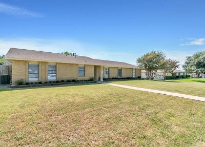 The Colony Single Family Home For Sale: 4912 Womack Circle