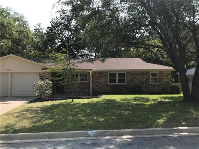North Richland Hills Single Family Home Active Option Contract: 4218 Steven Street
