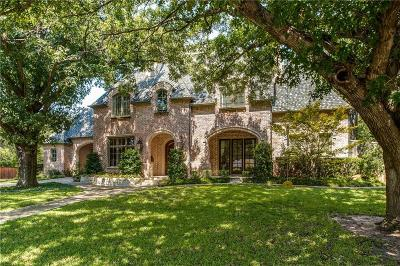Dallas, Fort Worth Single Family Home For Sale: 4709 Alta Vista Lane