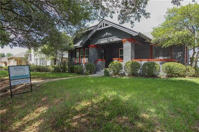 Fort Worth Single Family Home For Sale: 2625 Greene Avenue