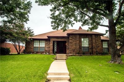 Lewisville Single Family Home Active Option Contract: 1857 Yorkshire Circle