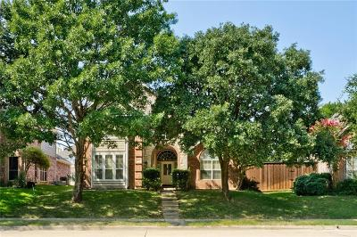 Lewisville Single Family Home Active Option Contract: 872 Pinnacle Circle