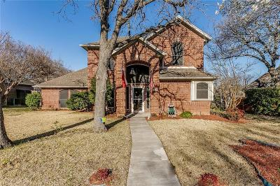 Keller Single Family Home Active Option Contract: 1515 Holly Ridge Drive