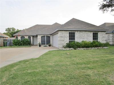 North Richland Hills Single Family Home Active Option Contract: 6713 Hadley Drive