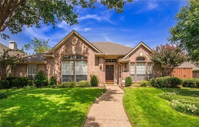 Plano Single Family Home Active Option Contract: 1417 Honey Locust Drive