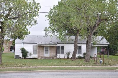 Brownwood Single Family Home For Sale: 1060 W Commerce Street