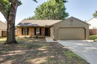 Euless Single Family Home Active Option Contract: 108 Mint Lane