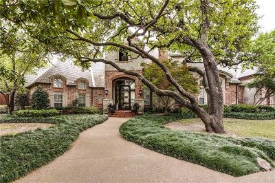 Dallas Single Family Home For Sale: 5310 Rock Cliff Place