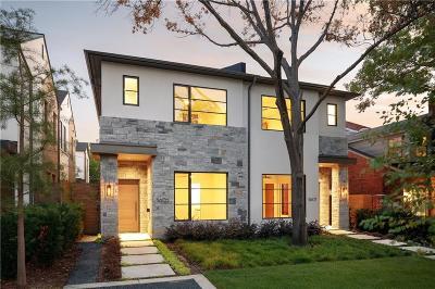 Highland Park, University Park Single Family Home For Sale: 3605 Binkley Avenue