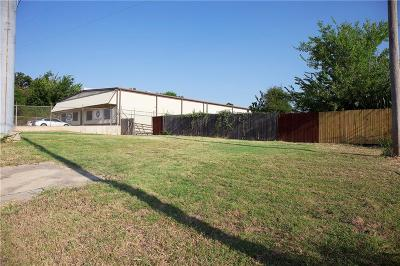 Lewisville Commercial Lots & Land Active Option Contract: 569 Bennett Lane