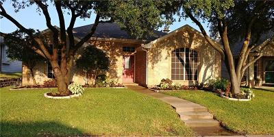 Rockwall Single Family Home Active Option Contract: 1305 Crestway Drive