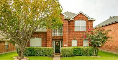 Allen Single Family Home Active Option Contract: 1322 Dove Brook Drive