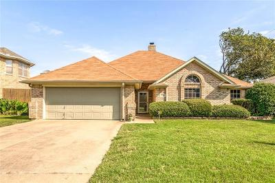 North Richland Hills Single Family Home Active Option Contract: 8529 Ellis Drive