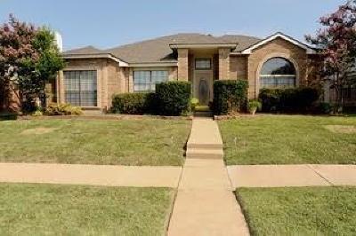 Mckinney Single Family Home Active Option Contract: 4418 Santa Cruz Lane