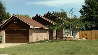 Mckinney Single Family Home For Sale: 603 Park View Avenue