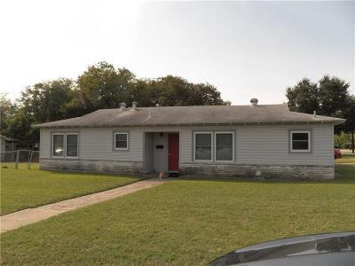 Haltom City Single Family Home For Sale: 5100 Ira Street