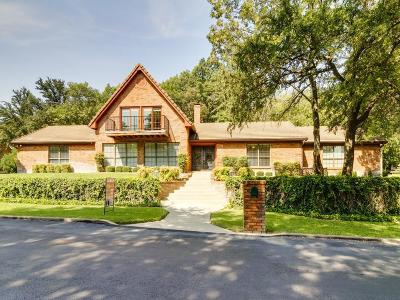Fort Worth Single Family Home Active Option Contract: 8925 Crest Wood Drive
