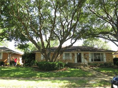 Dallas Single Family Home For Sale: 8484 Sweetwater Drive