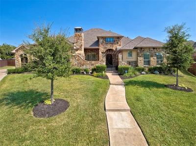 Keller Single Family Home Active Option Contract: 1701 Clark Lake Circle