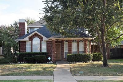 Lewisville Single Family Home Active Option Contract: 1472 Apenzell Lane