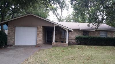 Garland Single Family Home For Sale: 1609 Meadowcrest Drive