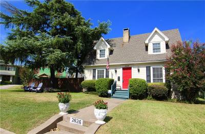 Dallas Single Family Home For Sale: 2626 Madera Street