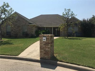 Wise County Single Family Home For Sale: 1207 W Hawk Circle