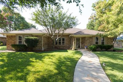 Plano Single Family Home Active Contingent: 1832 Hatherly Drive