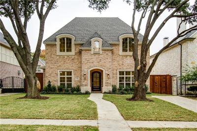 Dallas Single Family Home For Sale: 7512 Wentwood Drive