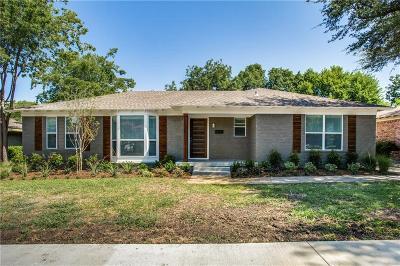 Dallas Single Family Home For Sale: 6817 Walnut Hill Lane