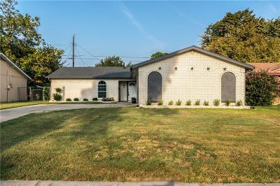 Irving Single Family Home Active Option Contract: 1113 Briar Oaks Drive
