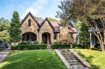 Dallas Single Family Home For Sale: 1123 N Edgefield Avenue