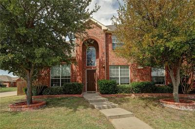 Allen Single Family Home For Sale: 201 Mineral Springs Drive