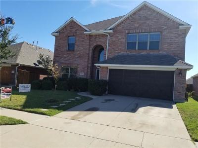 Little Elm Single Family Home For Sale: 1609 Castle Creek Drive