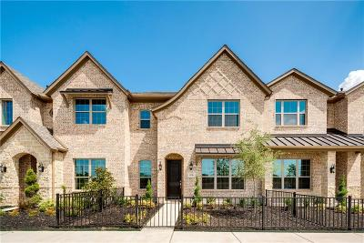 Frisco Townhouse For Sale: 6156 Rilla Street