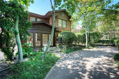 Dallas Single Family Home For Sale: 4336 Avondale Avenue