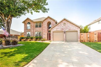 North Richland Hills Single Family Home Active Option Contract: 8109 Fireside Drive