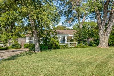 Garland Single Family Home Active Option Contract: 1212 Shady Lane